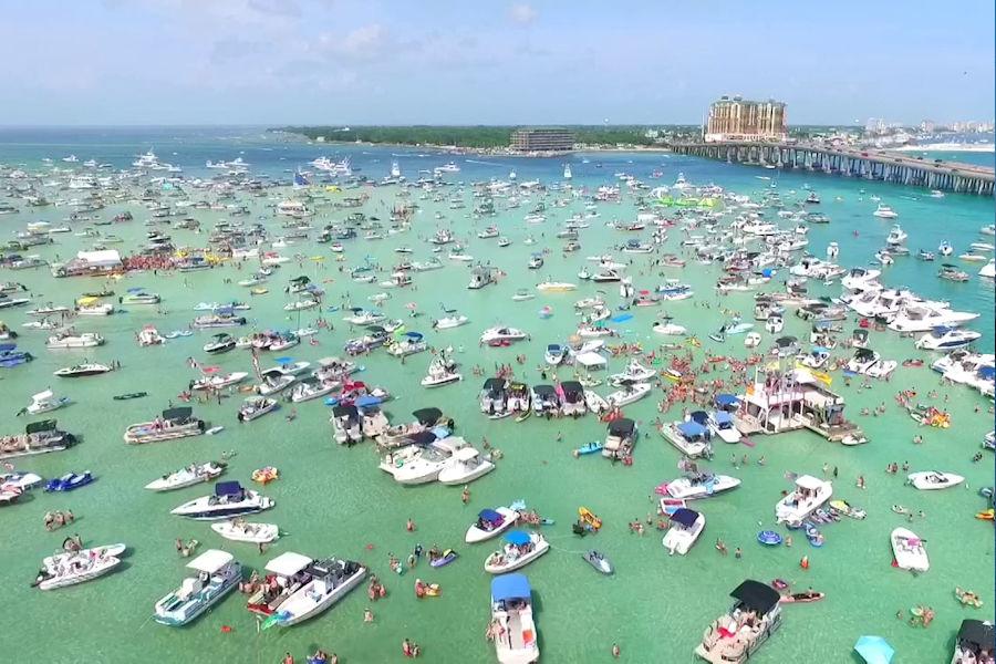 Pensacola Beach Or Destin Florida