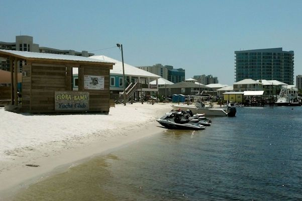 Need a ride to the Flora-Bama from Pensacola Boat Rides?